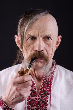 Cossack - Portrait of old cossack