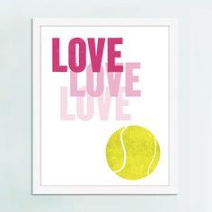 Tennis Art Sport Art Art Print Wimbledon Art Tennis Gift by UUPP