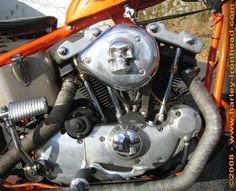 Photo of 1979 1000cc Harley Ironhead Engine in Paughco Frame by Brian.