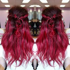 Hair in the Bright Reds category
