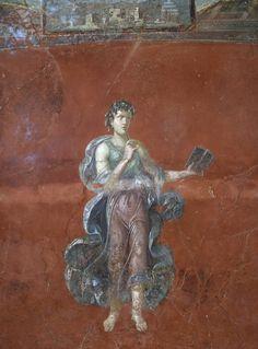 Calliope. Neronian age. Pompeii, Great Gymnasium