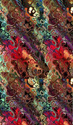 Hand Created Textile Art Panel Fiber Art Abstract Modern Cotton Fabric