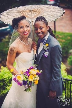 Kim Anderson | 14 Pinterest Boards That'll Inspire Your Perfect Lesbian Wedding
