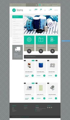 Who would use it?   Sewing Supplies Shopify Theme CLICK HERE! live demo  http://cattemplate.com/template/?go=2e1FcIt