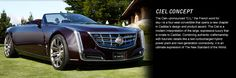 Cadillac Ciel Concept Twin-Turbocharged Hybrid Vehicle