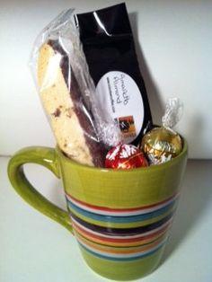 Coffee & mug gift set. $12.00, via Etsy.
