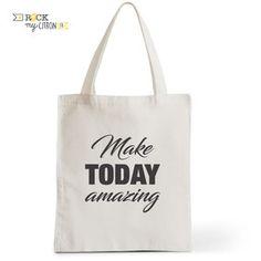 Tote Bag Rock my Citron,  Today Amazing, Cadeaux Fêtes, Anniversaires, Naissances