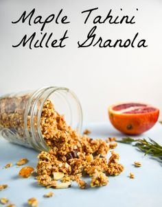 Maple Tahini Millet