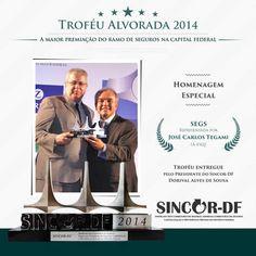 SEGS.com.br, recebe Troféu Alvorada 2014