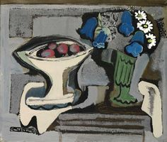 Still life with fruit and flowers, 1930 - Emil Filla (1882–1953)