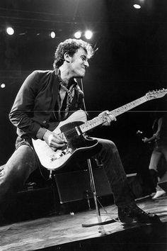 Photo of Bruce Springsteen (c.1980)
