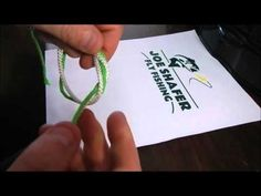 Fly Fishing Basic Knots - How to Tie A Surgeon's Knot - Part 2 Fly Fishing Basics, Fly Fishing Knots, Fishing Rigs, Fly Casting, Fly Rods, Sea Fish, How To Relieve Stress, Tattoo Quotes, Tie