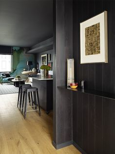 A Moody, Masculine Small-Space Apartment in San Francisco Photos | Architectural Digest