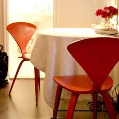 Side Chair by Norman Cherner — Maxwell's Daily Find 01.21.13