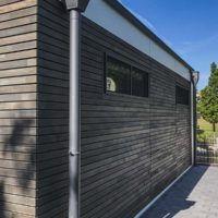 Wohn Modul in 35435 Wettenberg • Russ Modulbau Berg, Garage Doors, Outdoor Decor, Home Decor, Wood Facade, Homes, Decoration Home, Room Decor, Home Interior Design