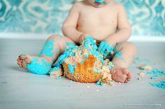 Smash cake pics