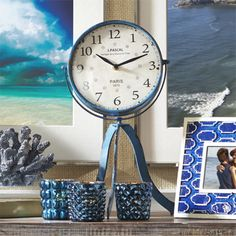 Pacifica Table Clock