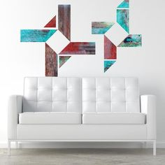 Discovered in New Mexico Faux Wood Mount wall decal on wall!!