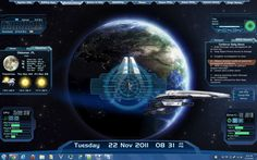 Mass Effect Rainmeter Skin by RickF7666.deviantart.com on @deviantART