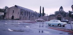 San Gabriel Mission, CA, 1960 high school memories. A couple miles from my home in Alhambra.