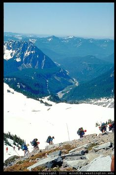 Camp Muir Hike - my goal for this summer! 4600 ft. gain! Time to get in shape!
