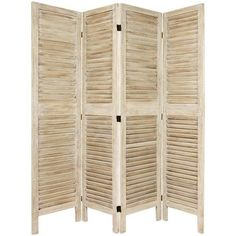 """Found it at Wayfair - 67"""" H Classic Venetian 4 Panel Room Divider http://www.wayfair.com/daily-sales/p/Rustic-%26-Refined-Home-Office-67%22-H-Classic-Venetian-4-Panel-Room-Divider~OFN5869~E20989.html?refid=SBP.rBAjEVWo8xcnwme8l_WsAn34twCgJUpeq4wYtzL-syk"""