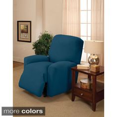 Shop for Large Stretch Jersey Recliner Slipcover. Free Shipping on orders over $45 at Overstock.com - Your Online Home Decor Shop! Get 5% in rewards with Club O!