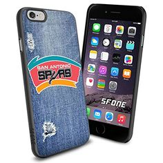 """San Antonio Spurs Basketball Jeans iPhone 6 4.7"""" Case Cover Protector for iPhone 6 TPU Rubber Case SHUMMA http://www.amazon.com/dp/B00VQLYOOA/ref=cm_sw_r_pi_dp_byYovb11KN9XP"""