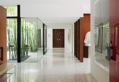 Modern Entrance Hall by Brad Dunning Design | AD DesignFile - Home Decorating Photos | Architectural Digest