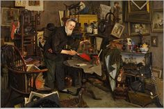 Charles-Spencelayh-The-Old-Dealer