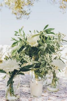 Gorgeous Olive Green Wedding Color Ideas for 2019 Trends - EmmaLovesWeddings elegant simplicity wedding centerpiece ideas iwth green branches. Olive Green Weddings, Olive Wedding, Tree Wedding, Floral Wedding, Wedding Colors, Wedding Flowers, Wedding Ideas, Branches Wedding, Wedding Bouquets