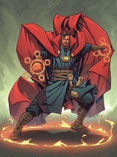 Doctor Strange Marvel Dc, Marvel Comic Universe, Marvel Heroes, Marvel Cinematic Universe, Comic Book Characters, Marvel Characters, Comic Books Art, Comic Art, The Avengers