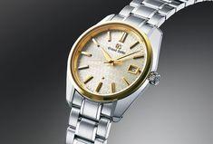 Grand Seiko, la marque nippone de luxe présente ses nouveautés