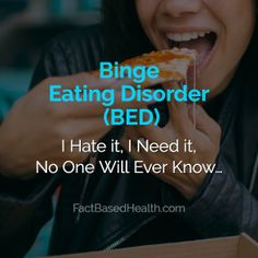 Binge Eating Disorder BED is the most prevalent of the eating disorders. See traits, causes, health risks and different kinds of treatment. Emotional Awareness, Mental Health Awareness, Health Articles, Health Tips, Mental Health Help, Impulsive Behavior, Polycystic Ovarian Syndrome, Family Therapy, Binge Eating