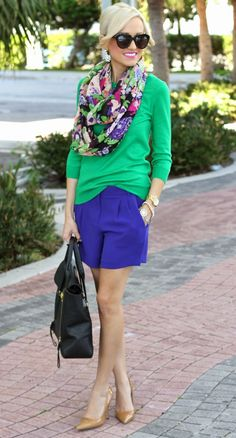 beb07f1a4f7 Color blocking and A Giveaway... (A Spoonful of Style)