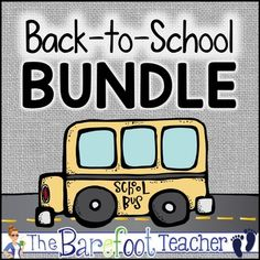 Get ready for Back to School with this bundle of seven resources that will start you off to a great year! 220 pages to print! $