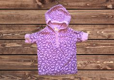 Girls Shirt with Hoodie (Size: 2T)