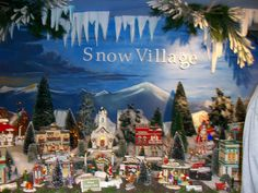 48 Best Christmas Village Images On Pinterest Christmas