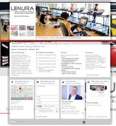 Web Visitenkarten Fördeagentur: LENURA GmbH -Leasing, Mietkauf- Kiel