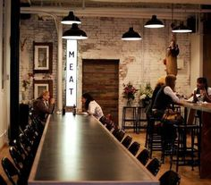 New bread shop design brick walls Ideas Restaurant Concept, Cafe Restaurant, Restaurant Design, Restaurant Interiors, Cafe Bar, Cafe Interior, Interior And Exterior, Interior Styling, Café Bistro