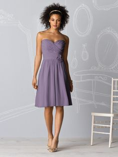 After Six Bridesmaids style 6609- lavender