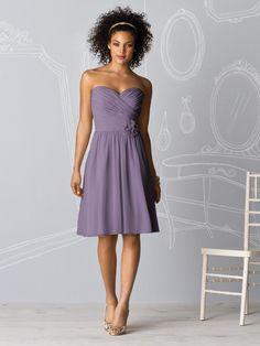 lavender bridesmaid dress!