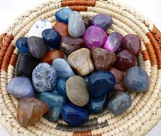 Blessing stones - a ritual that involves guests in your ceremony