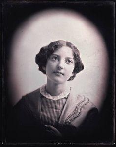 Southworth & Hawes   Miss Sarah Hodges of Salem  ca. 1850 daguerreotype quarter plate