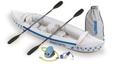Santas Tools and Toys Workshop: Sporting Goods: Sea Eagle 330 Inflatable Kayak with Deluxe Package