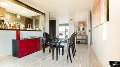 Zona de comedor de la vivienda realizada por el estudio de Arquitectura GrupoIAS