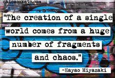 Hayao Miyazaki Quote Magnet or Pocket Mirror (no.313)