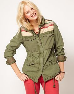 Denim & Supply By Ralph Lauren Patched Parka at asos.com