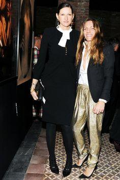 Jenna Lyons and Courtney Crangi  http://toyastales.blogspot.com/2013/02/best-dressed-21313-hollywood-and.html