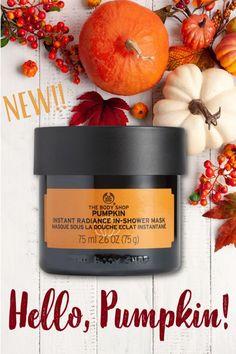 Body Shop Skincare, The Body Shop, Candle Jars, Pumpkin, Skin Care, Cosmetics, Tbs, Shower, Fragrances